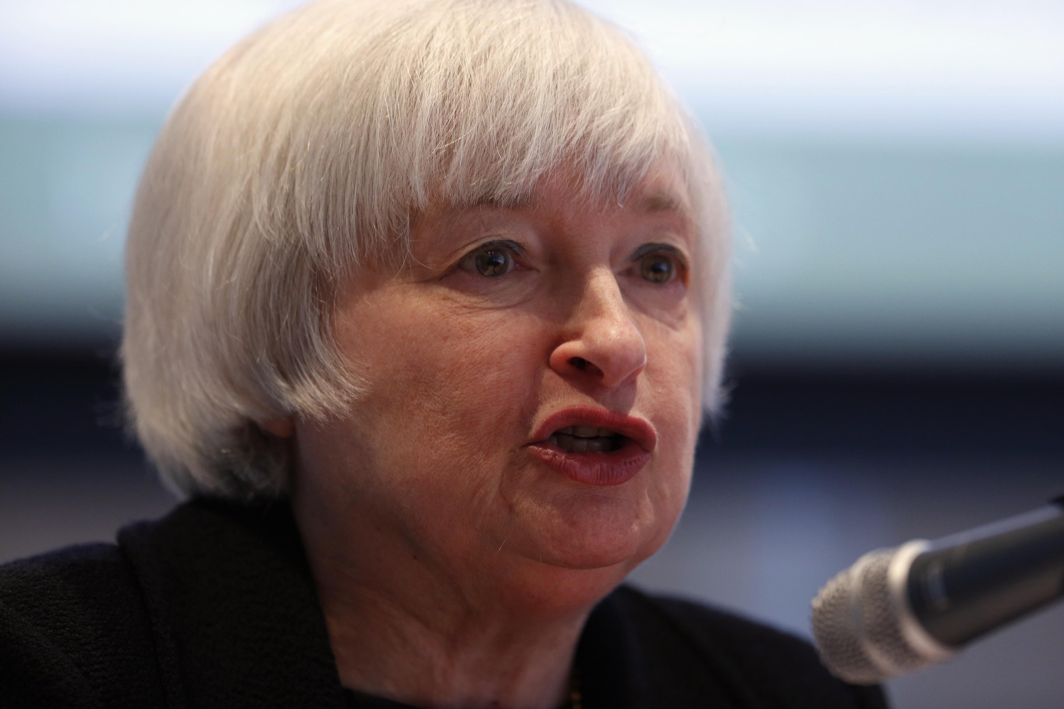 U.S. Federal Reserve Vice Chair Yellen speaks at AFL-CIO in Washington