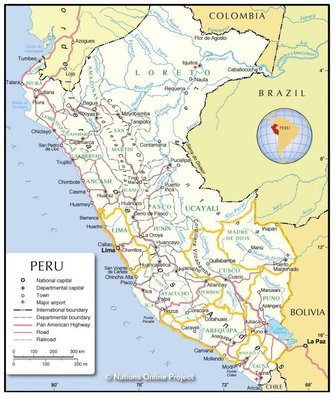 South America-Peru