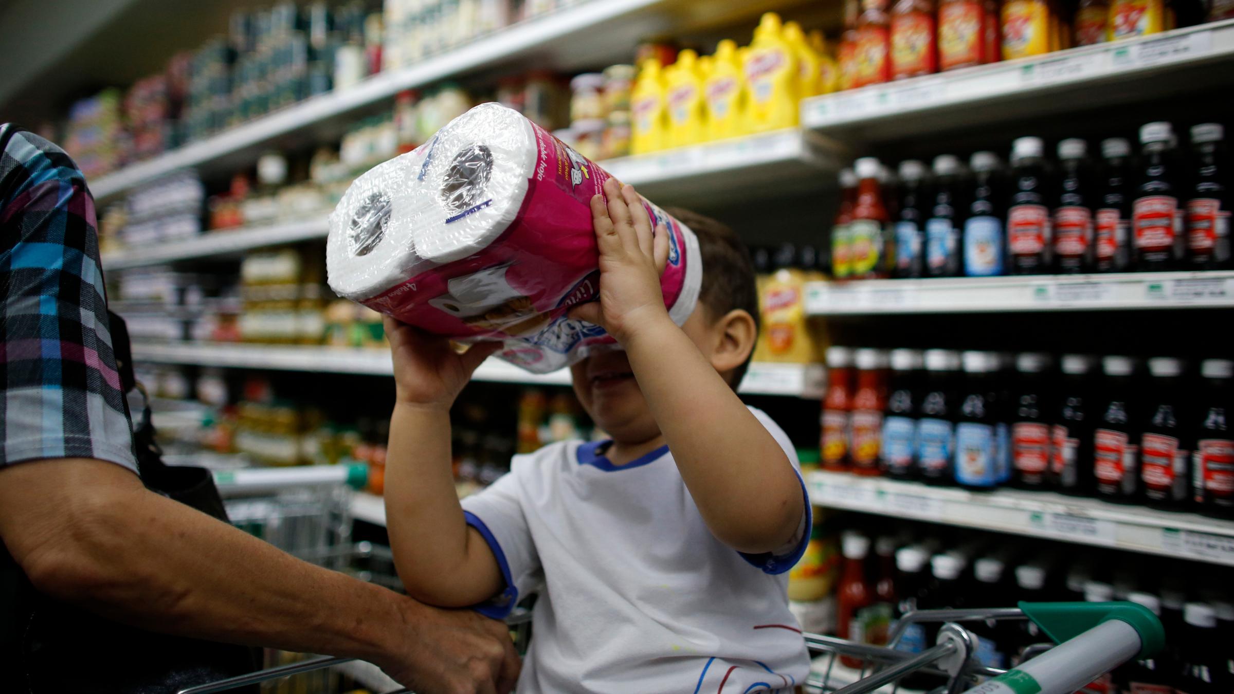Toilet paper shortage Venezuela