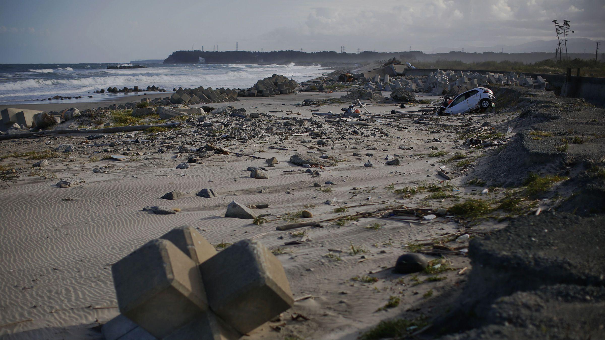 Fukushima beach