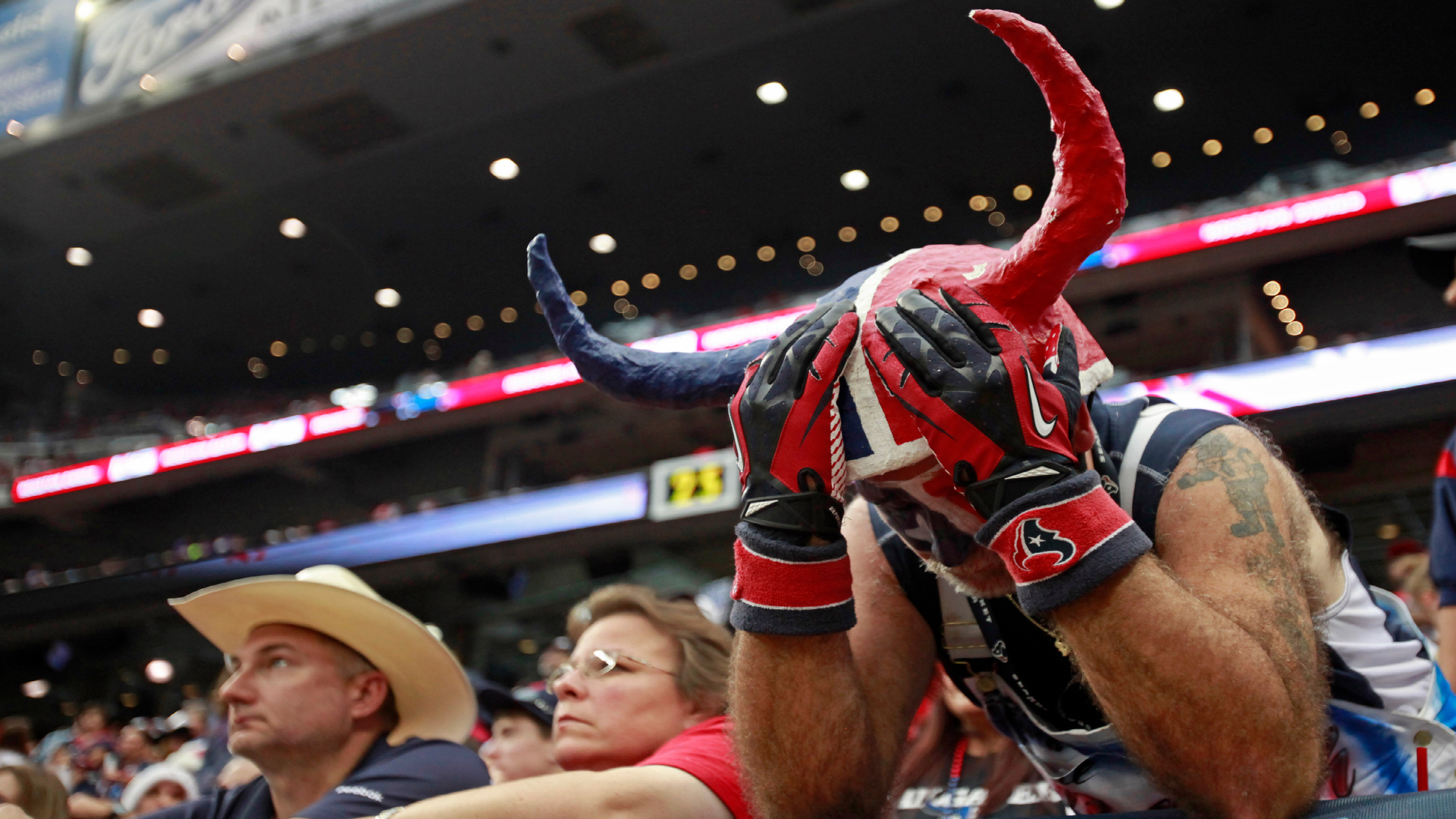 NFL Houston Texans Disappointed fan