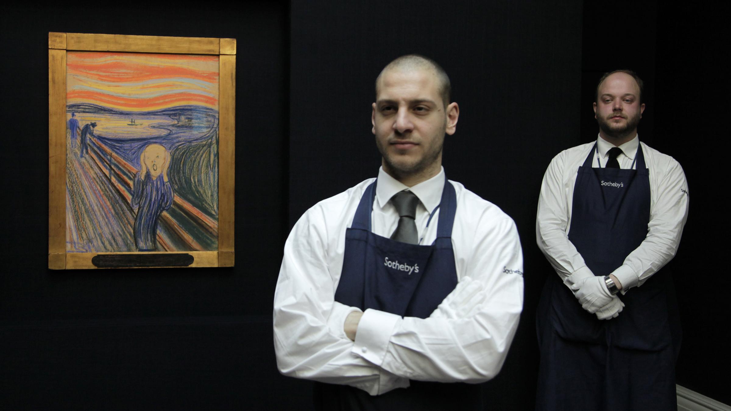 sotheby's employees art
