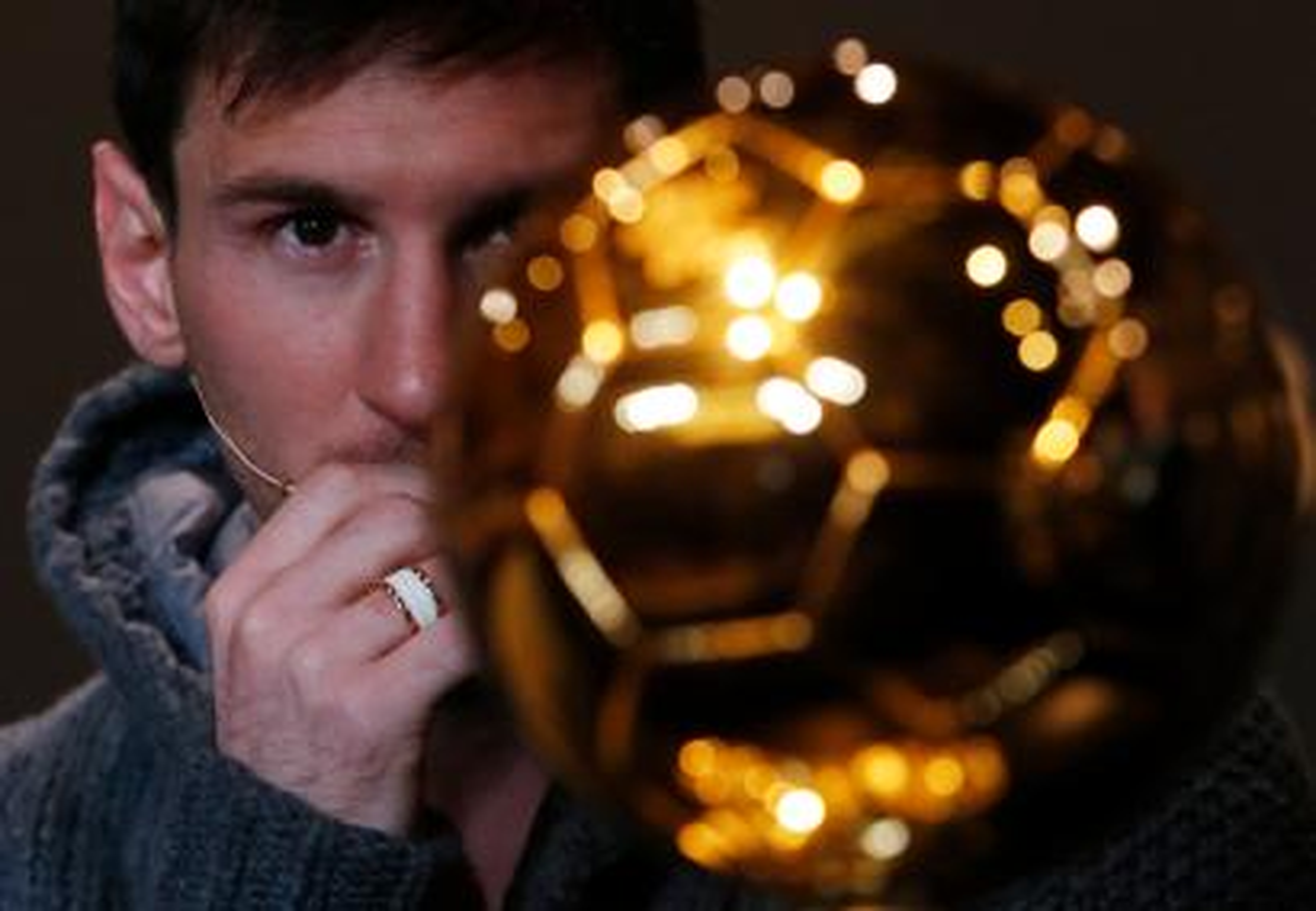 Lionel Messi soccer ball