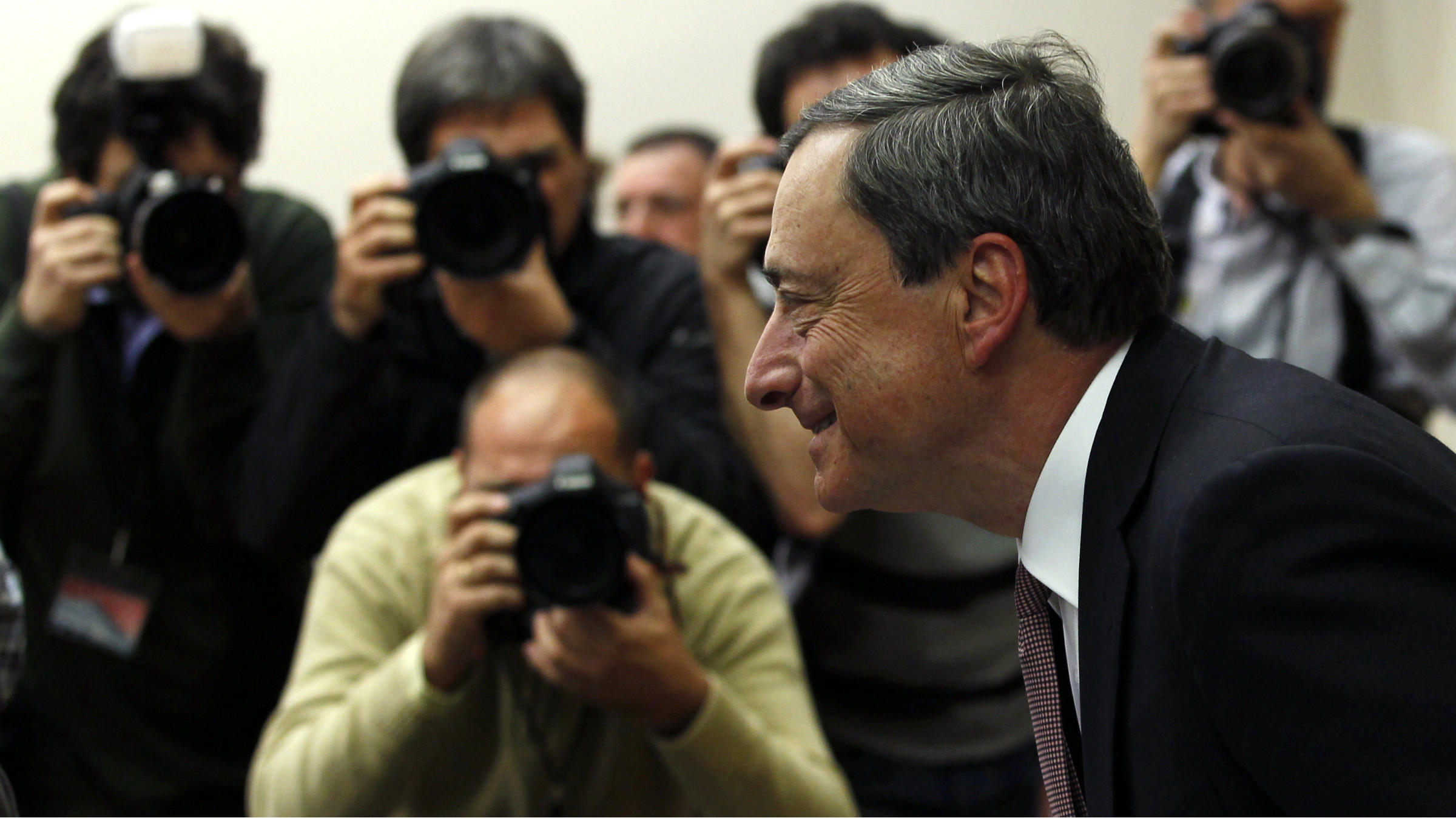 Everyone is watching to see whether Mario Draghi will reopen the monetary taps.