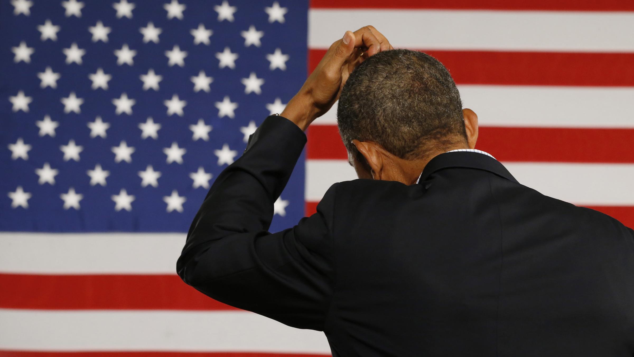 obama united states us flag