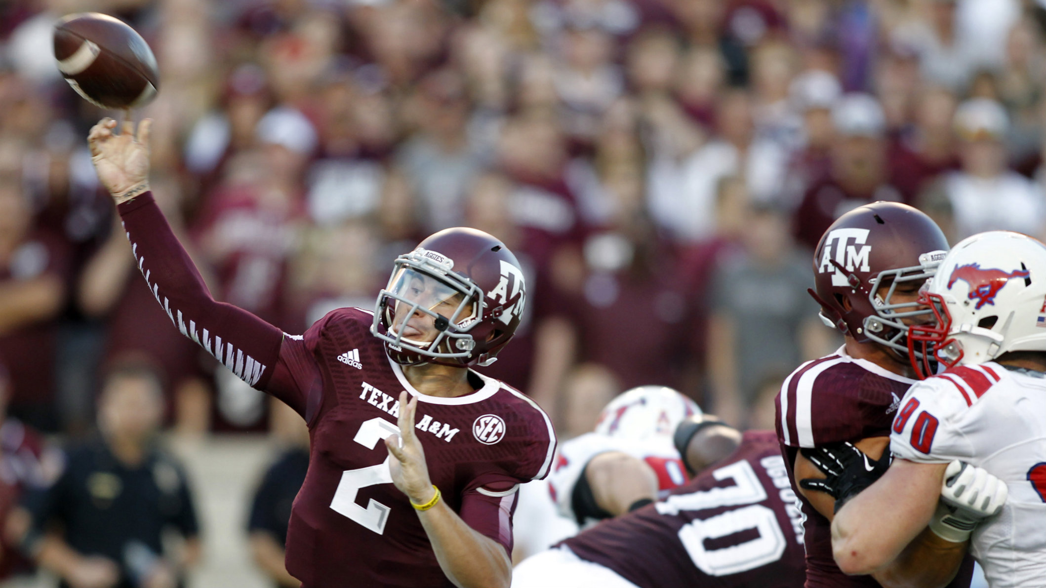 Could Johnny Football soon be remunerated for his  onfield exploits?