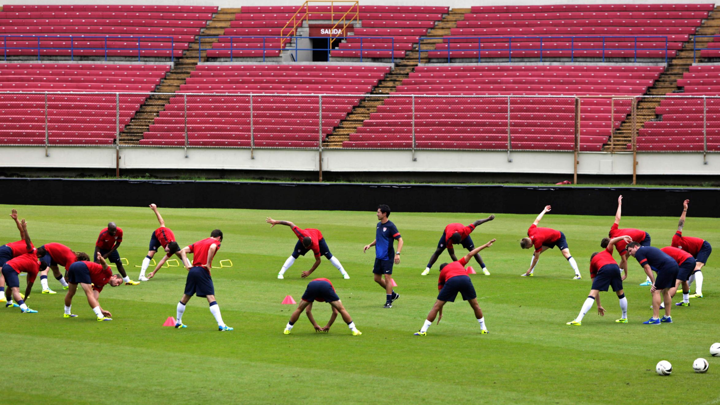 Soccer team sports