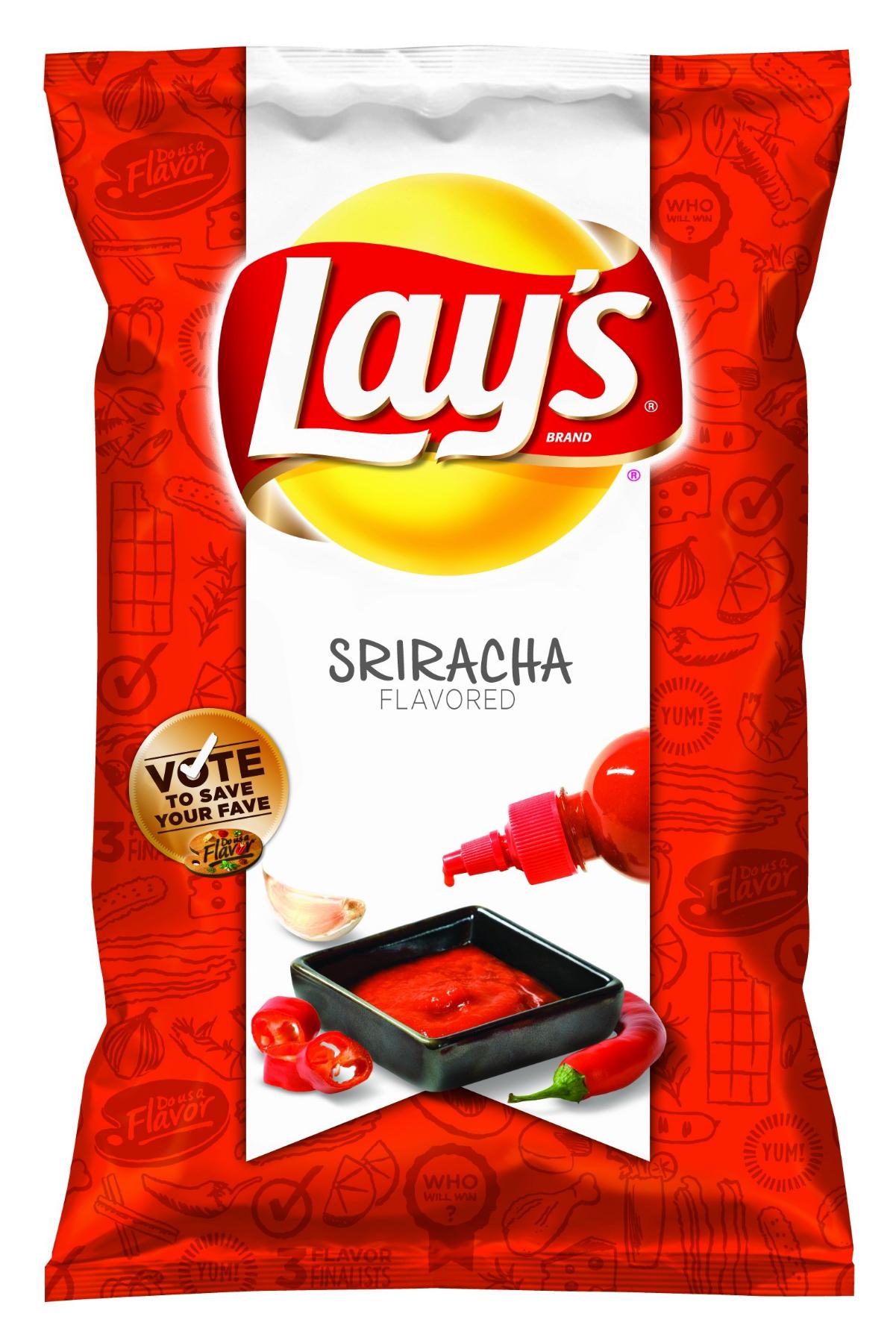 Sriracha Lays