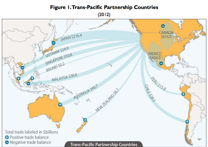 controversial trans pacific partnership agreement - 878×621