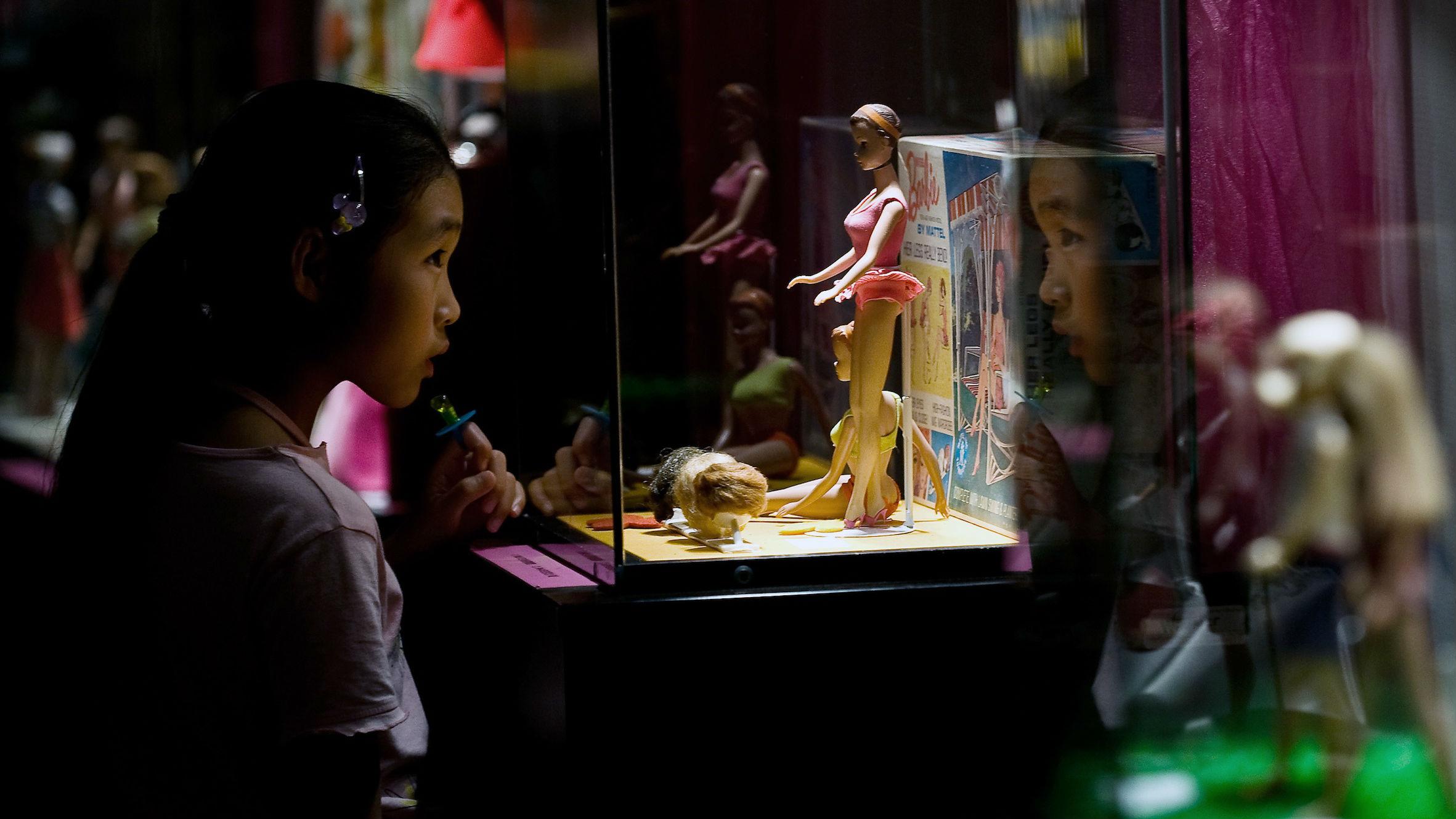 barbie in china web