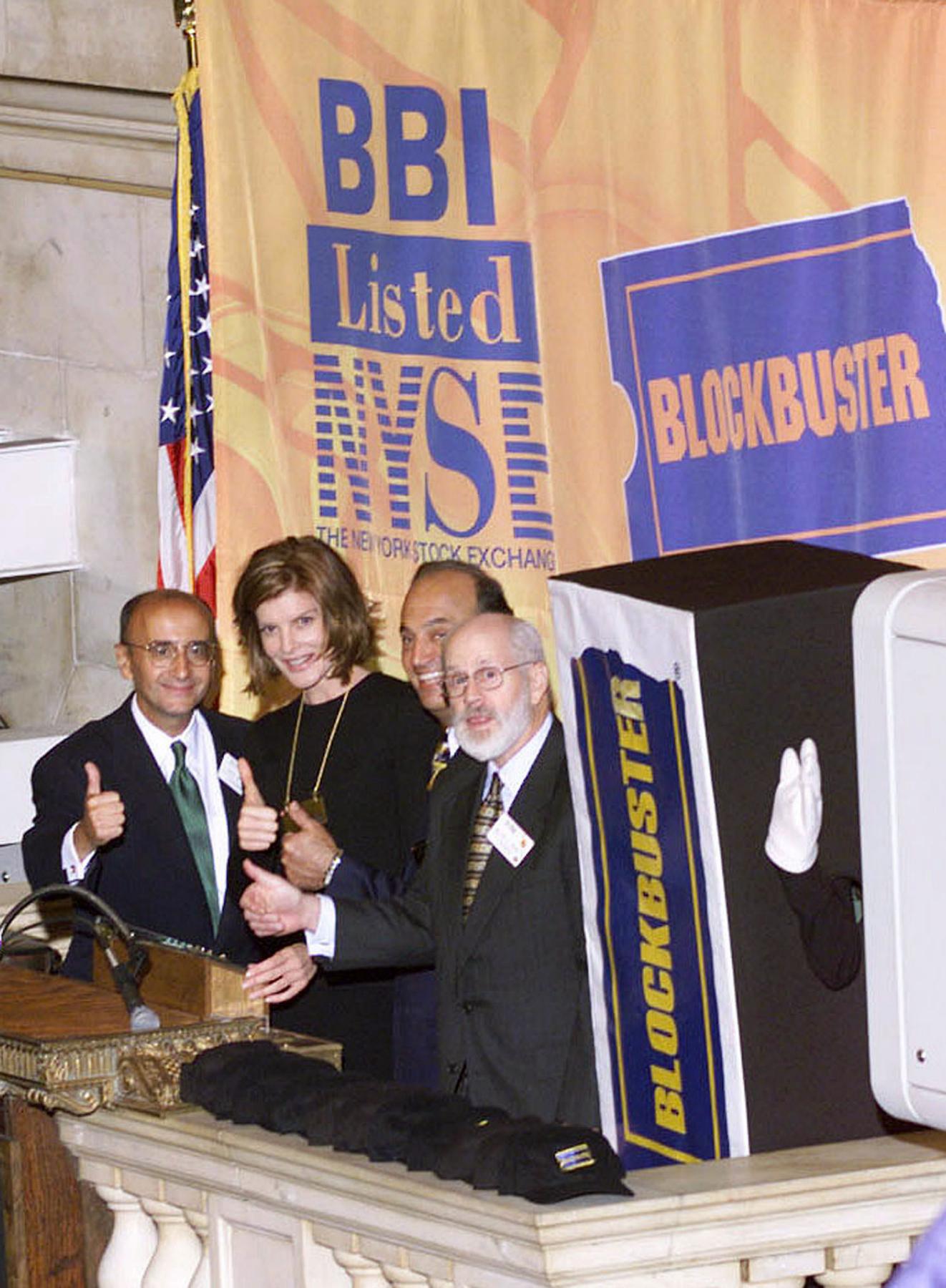 Blockbuster NYSE public