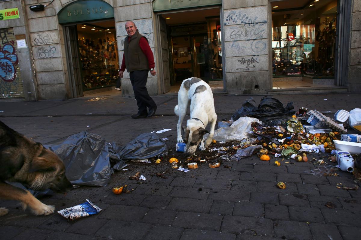 Madrid Street Cleaner Strike 3