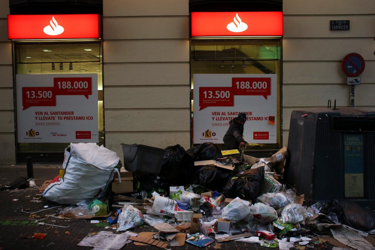 Madrid Street Cleaner Strike 5