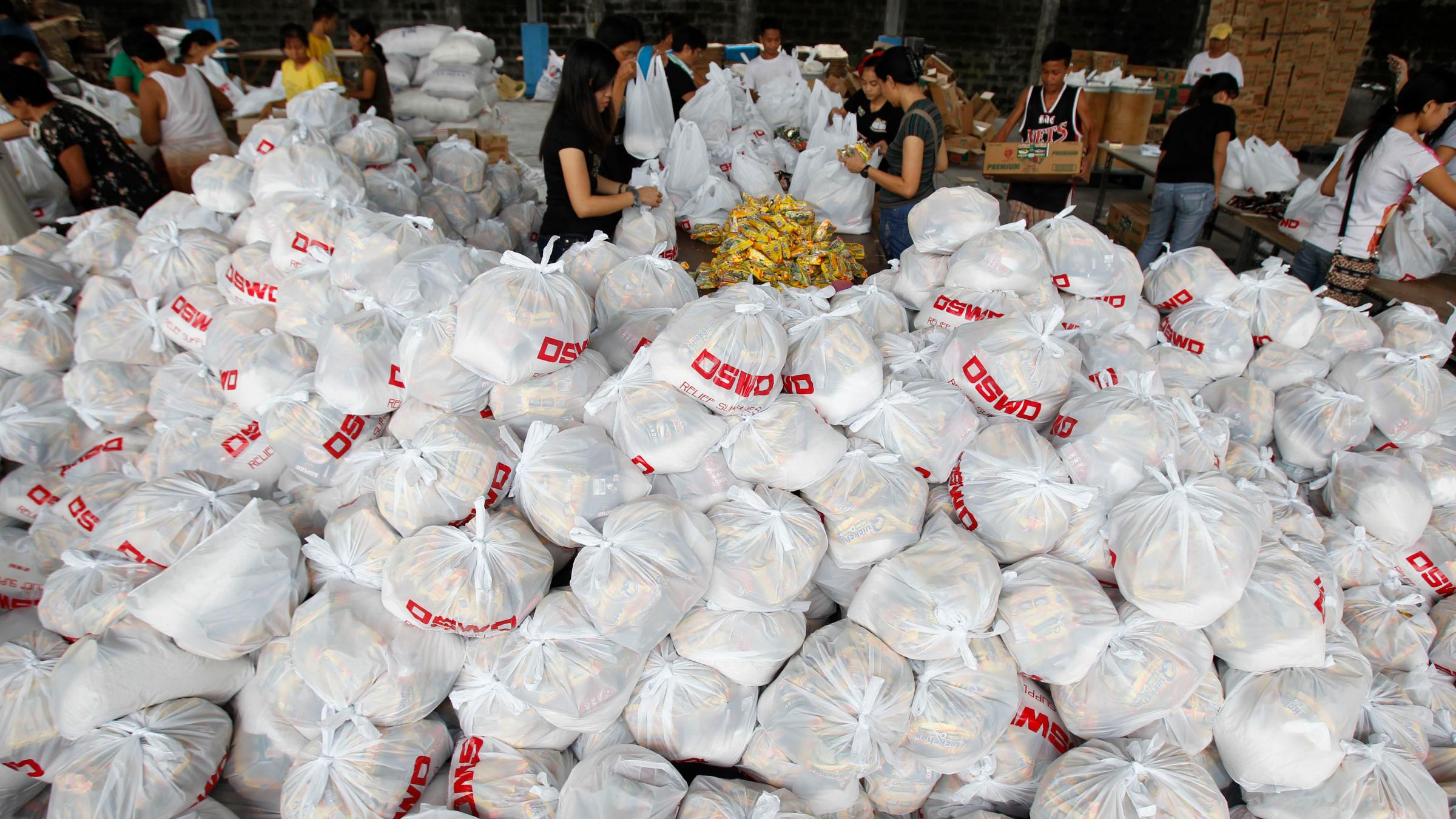 Philippines food relief