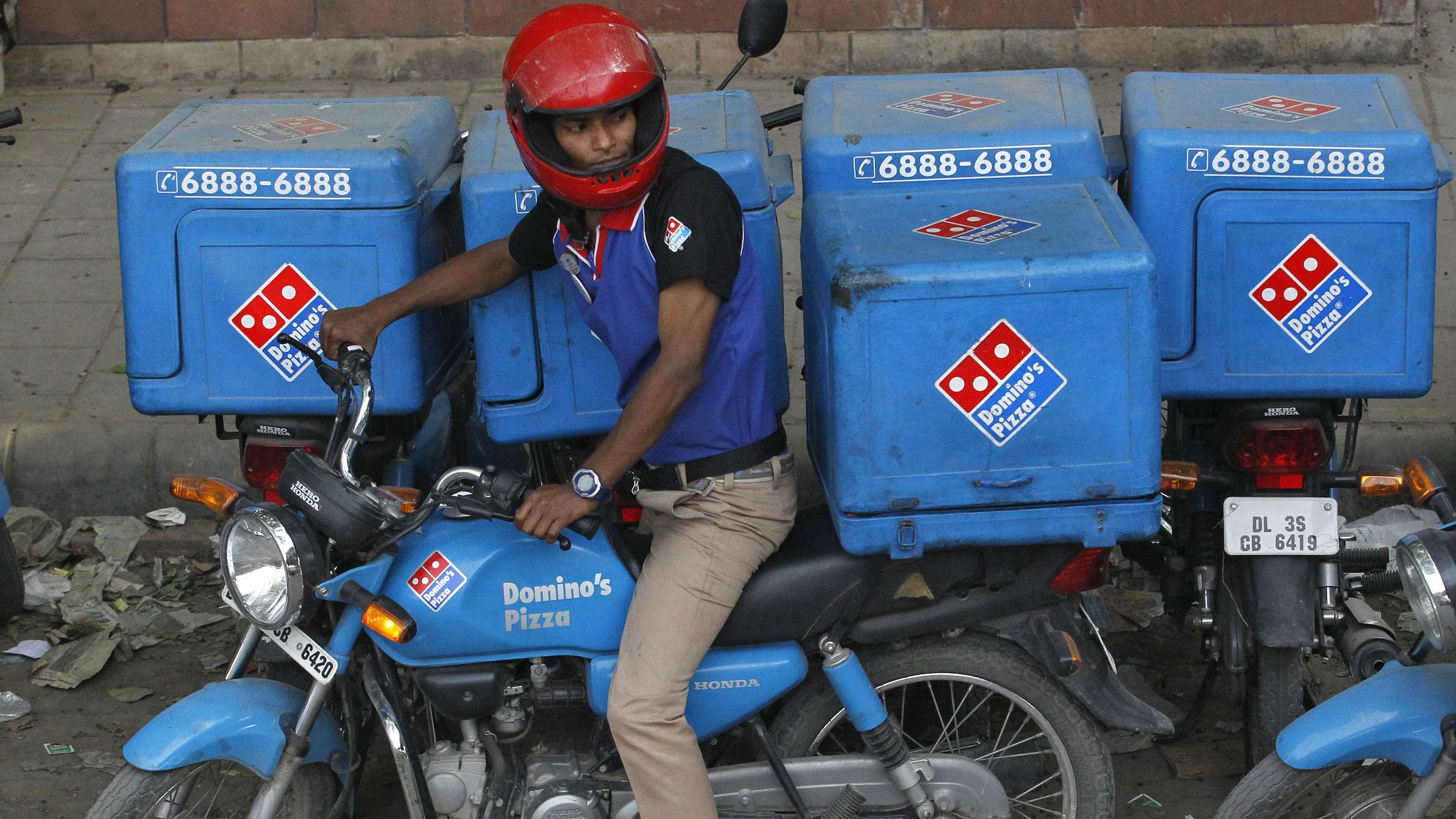pizza dominos india web