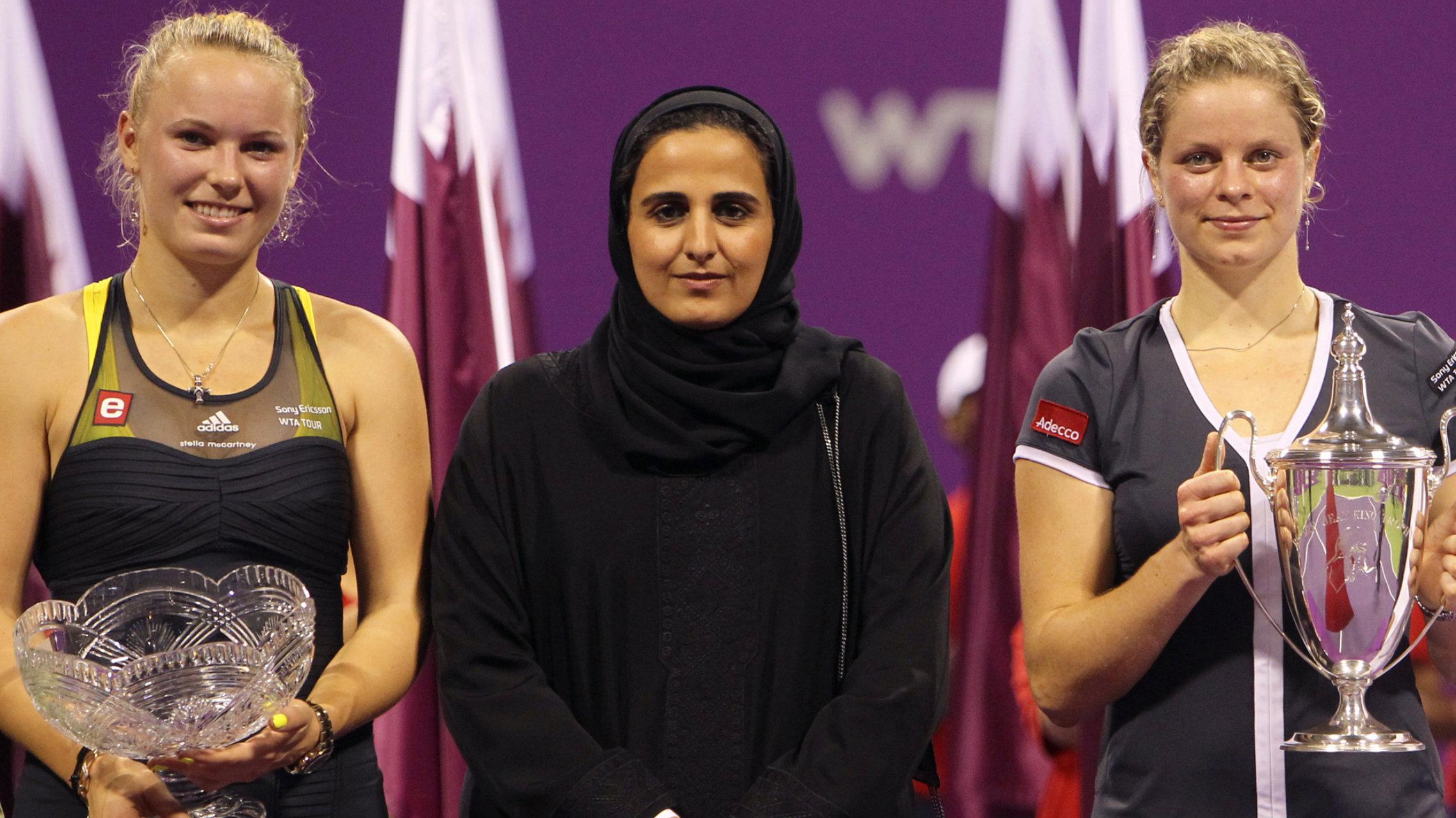 Qatar sheikha mayassa tops art power list art