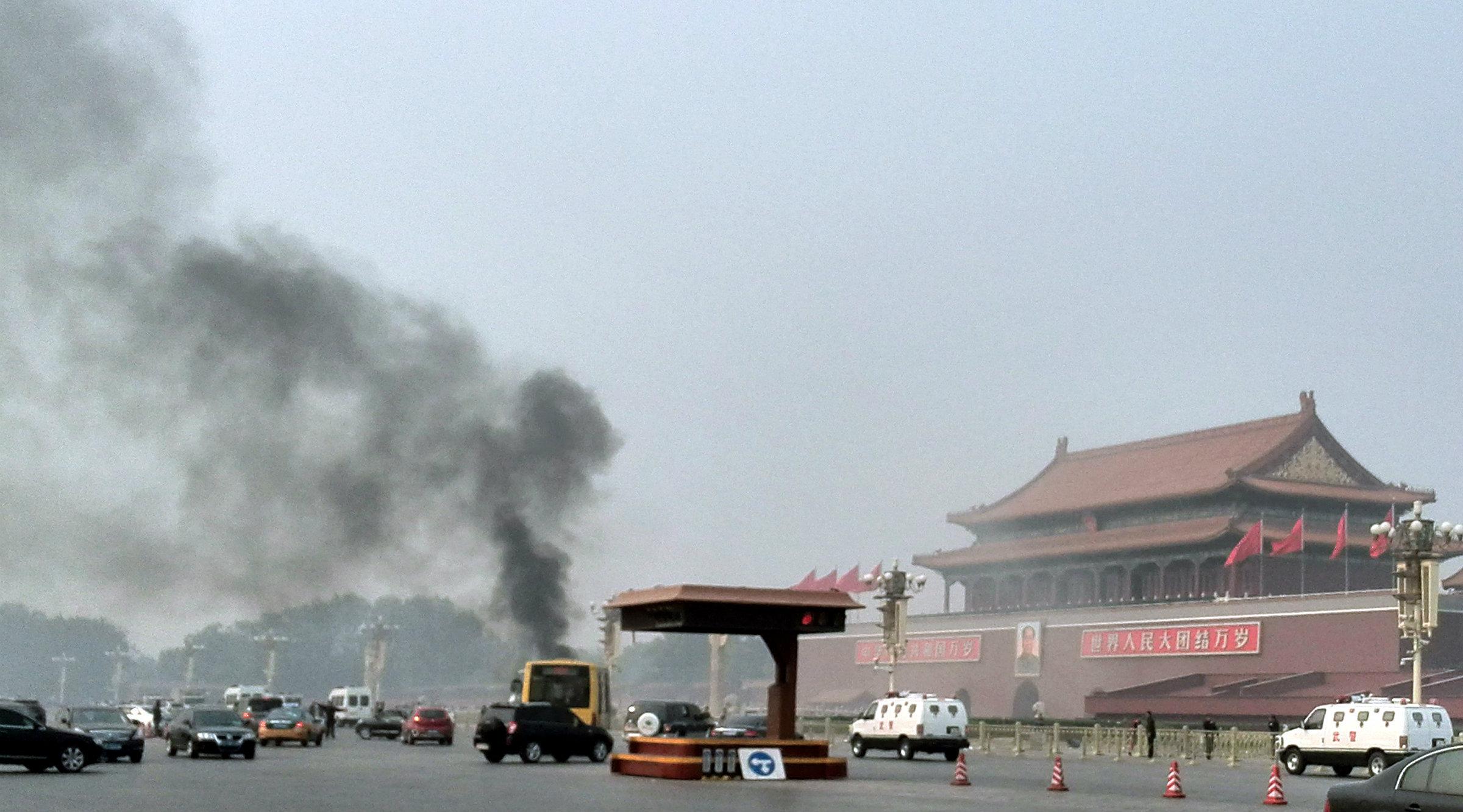 Tiananmen Square on Oct. 28, 2013.
