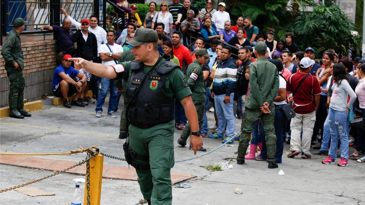 Venezuela Daka takeover