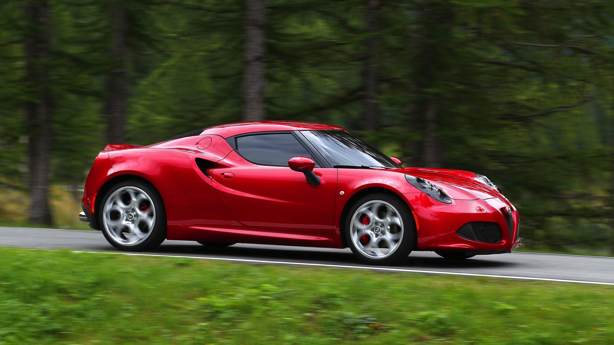 Fiat Alfa Romeo 4C sports car