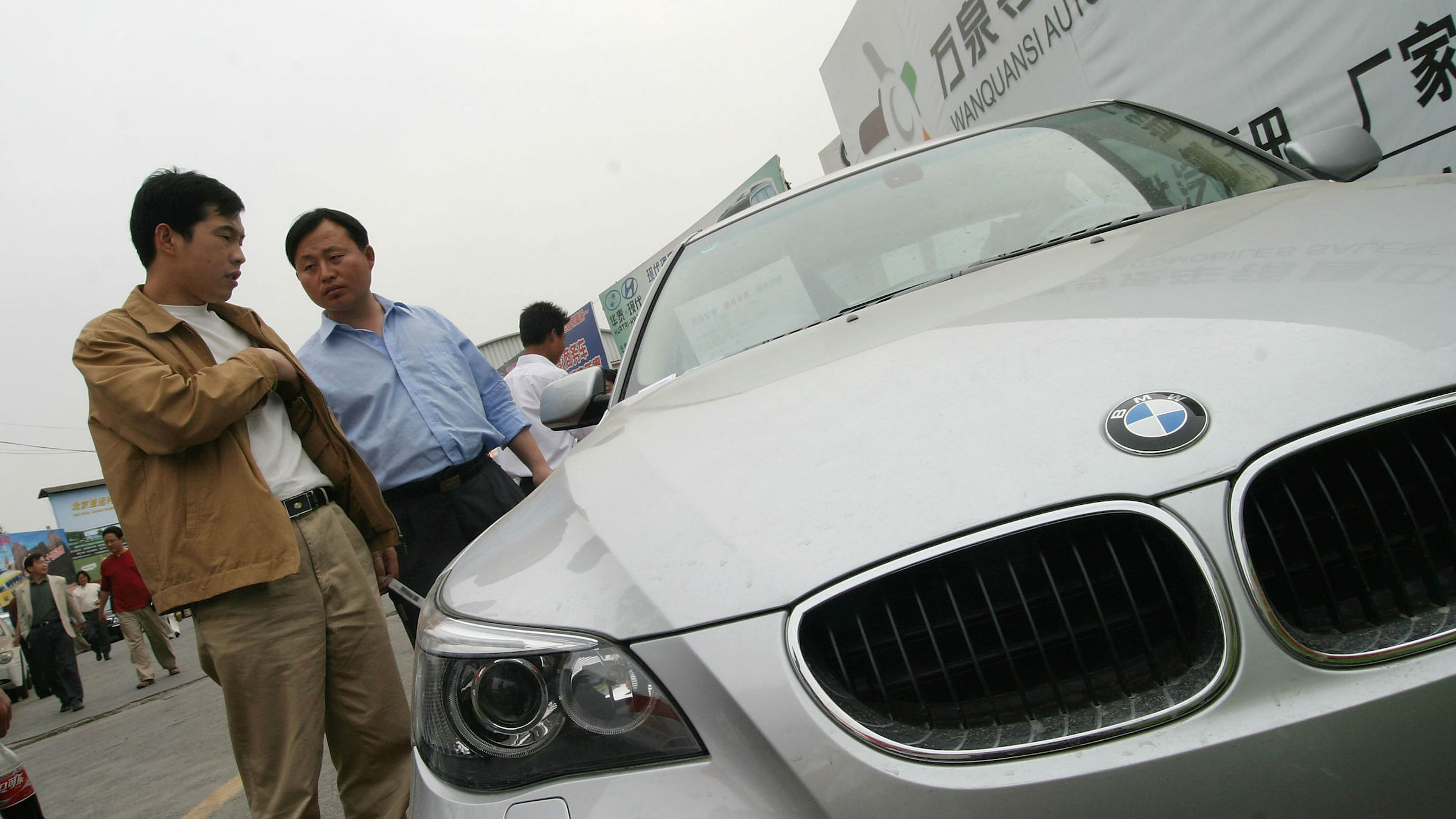 BMW china men web