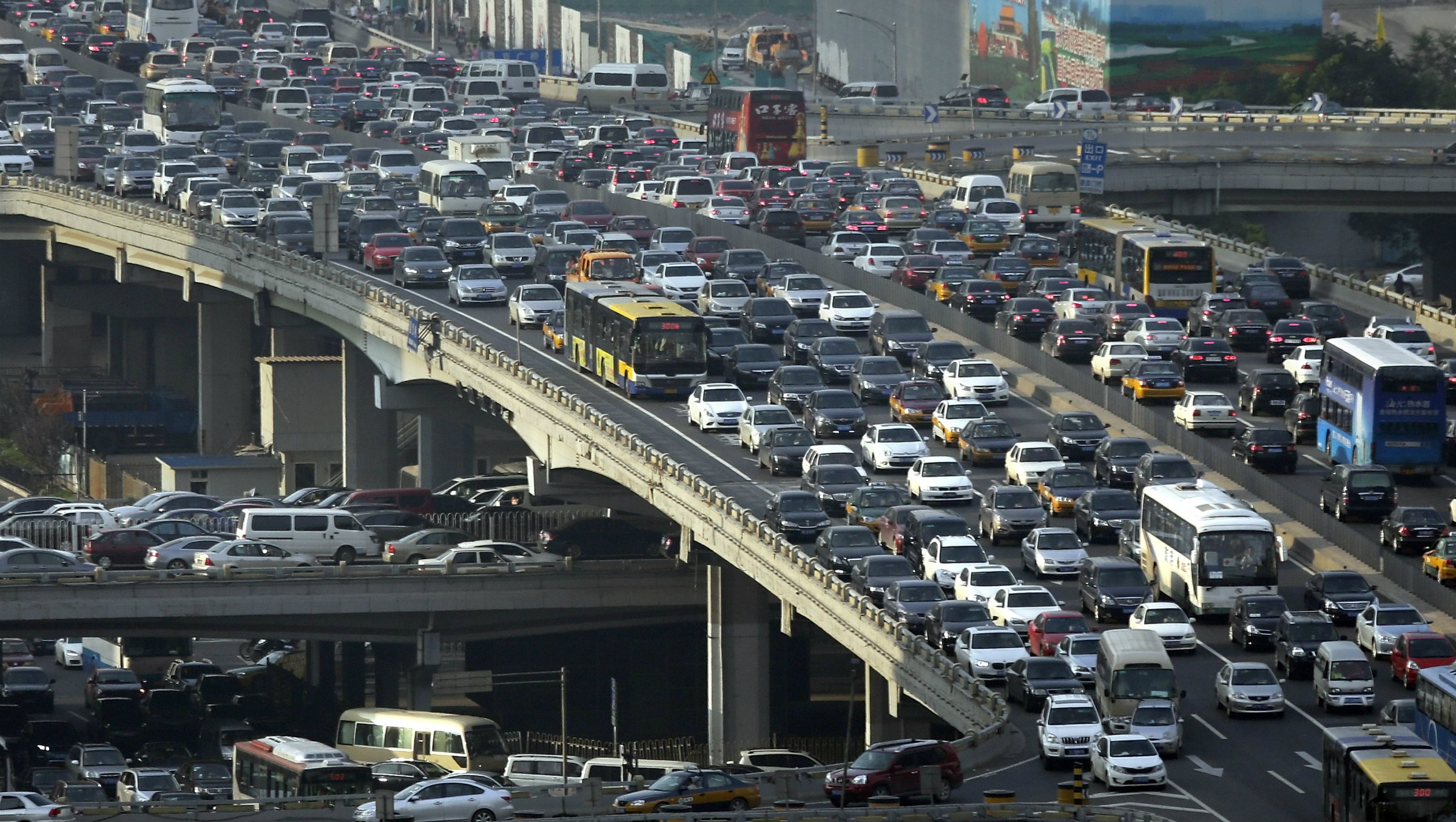 At this rate, Beijing's traffic is never going to improve.