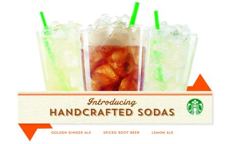 Handcrafted sodas