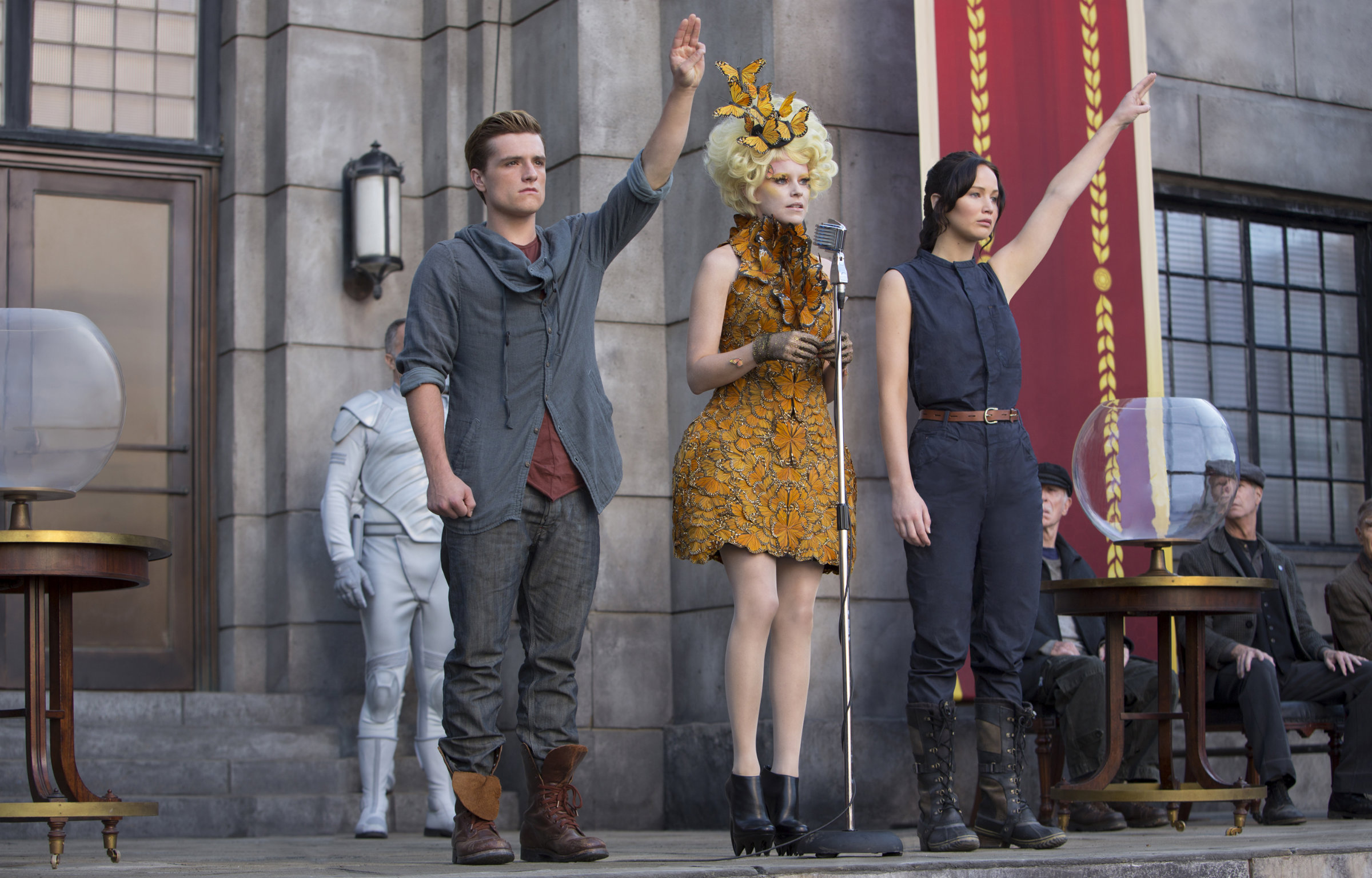 Hunger Games, one of Lions Gate's biggest hit franchises.