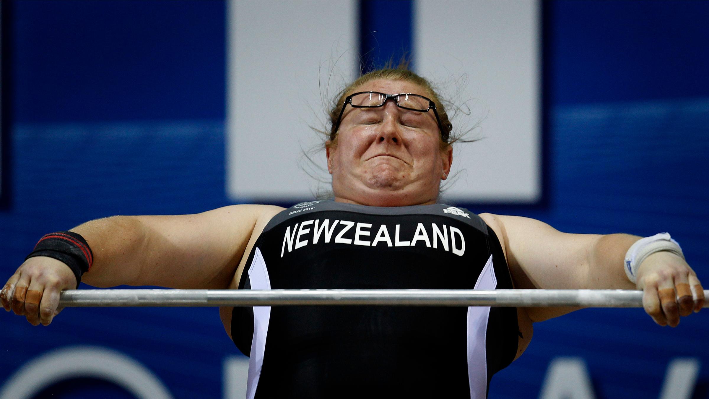New Zealand weight lifter