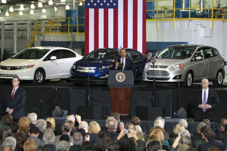 Obama at Argonne National labs