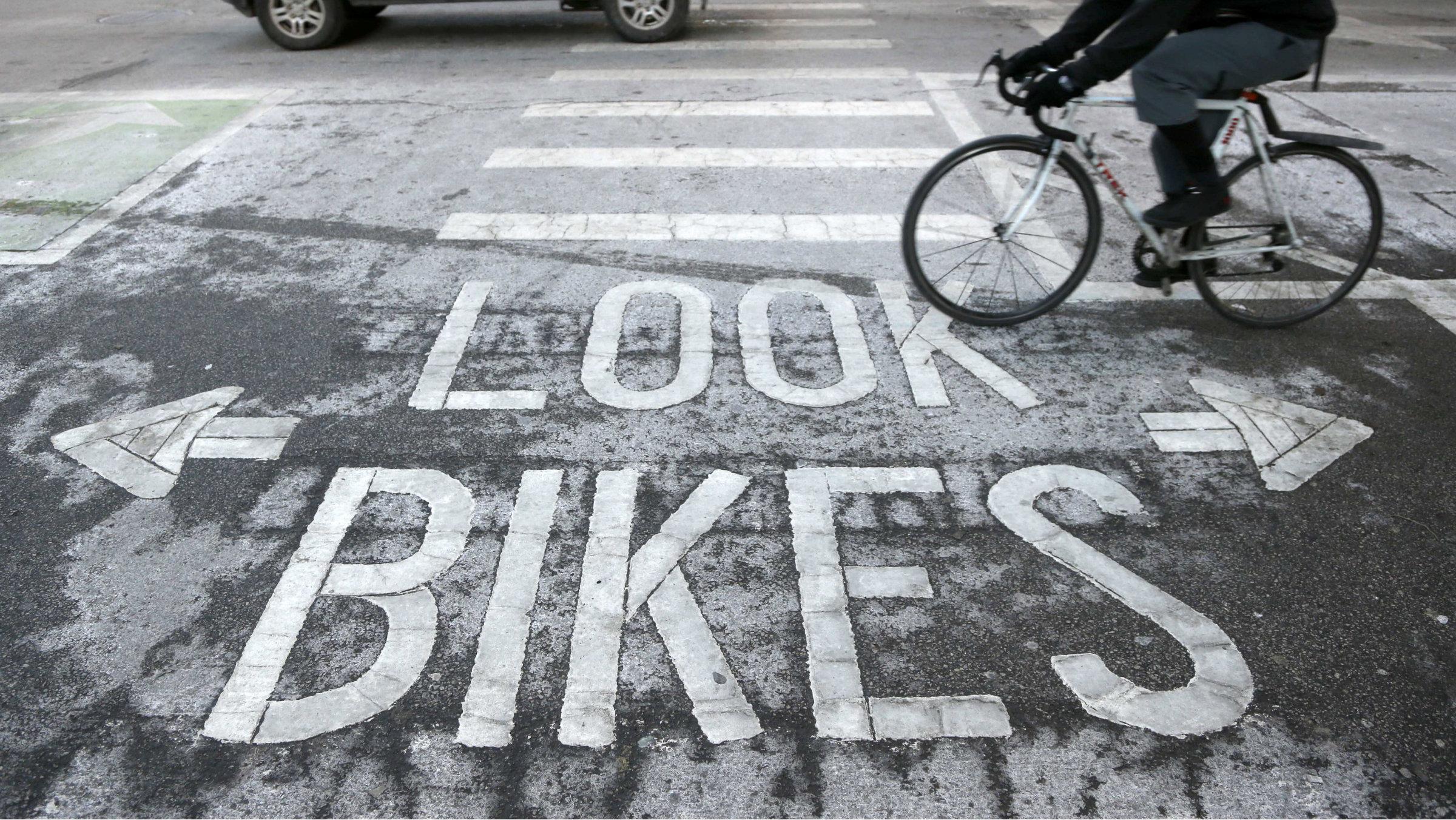 Bike path to innovation.