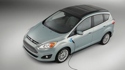 Ford C Max Energi >> Ford's solar-powered electric car takes transportation off ...