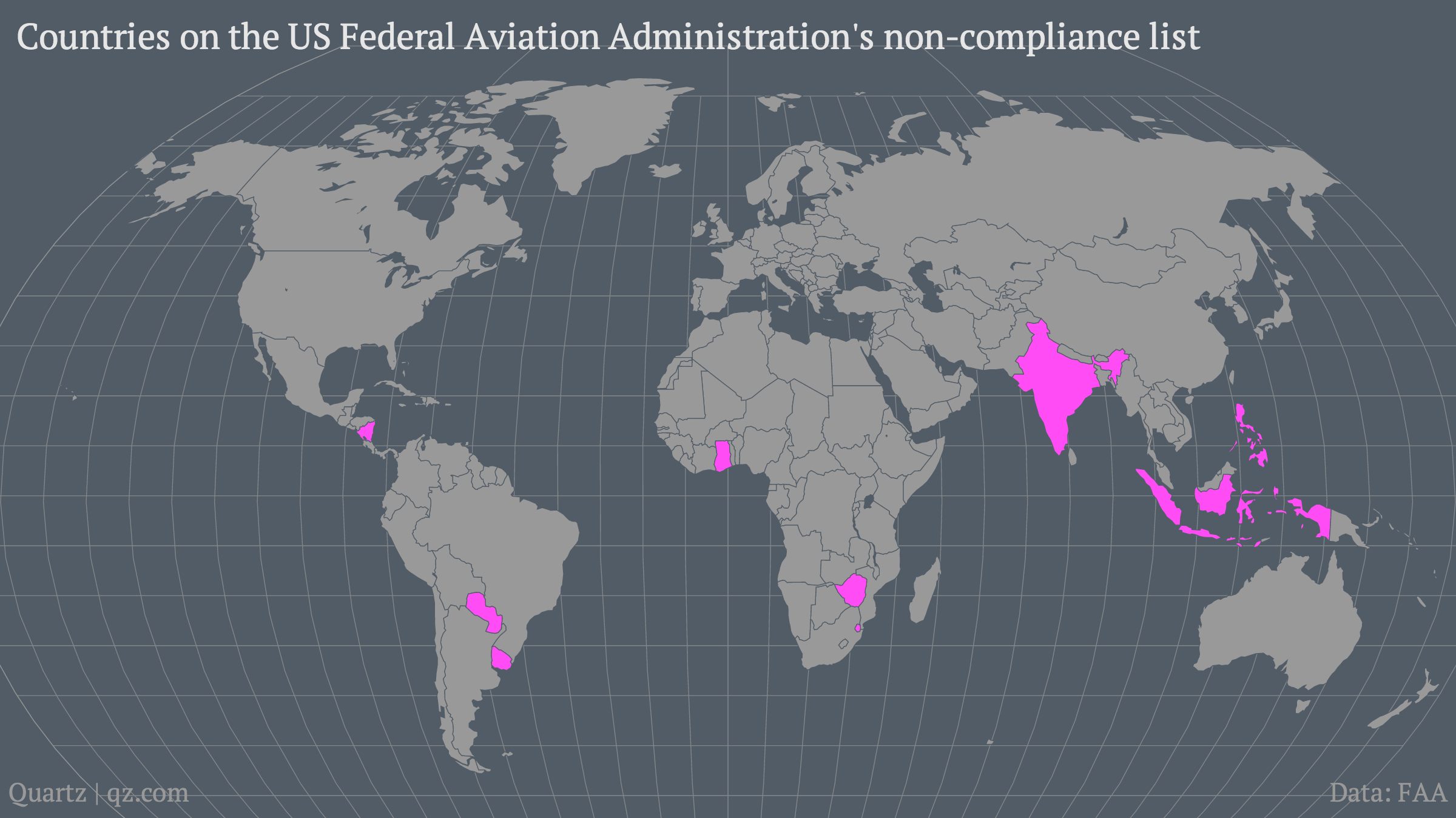 Countries-on-the-US-Federal-Aviation-Administration-s-non-compliance-list_mapbuilder