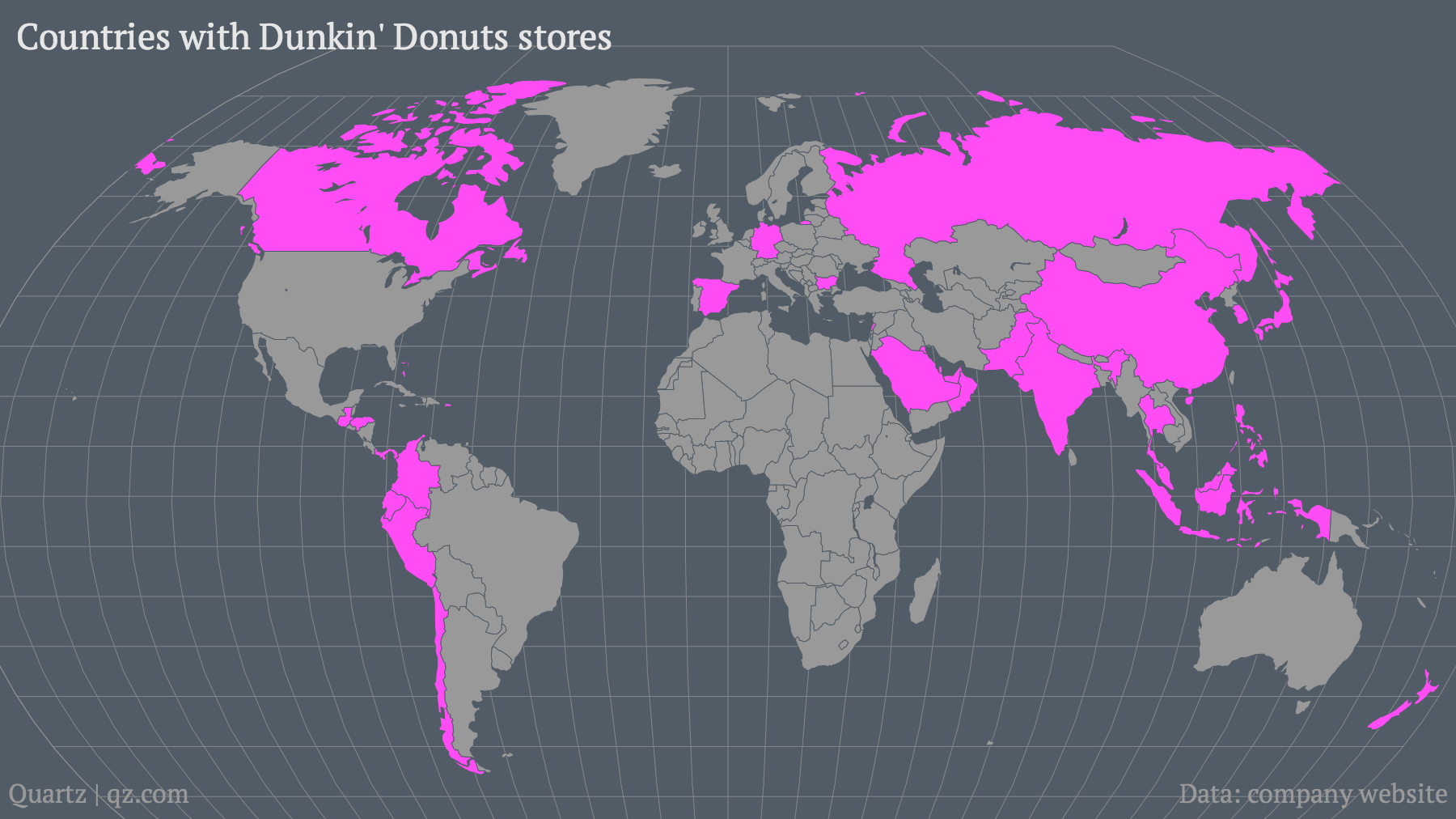 Countries-with-Dunkin-Donuts-stores_mapbuilder (2)