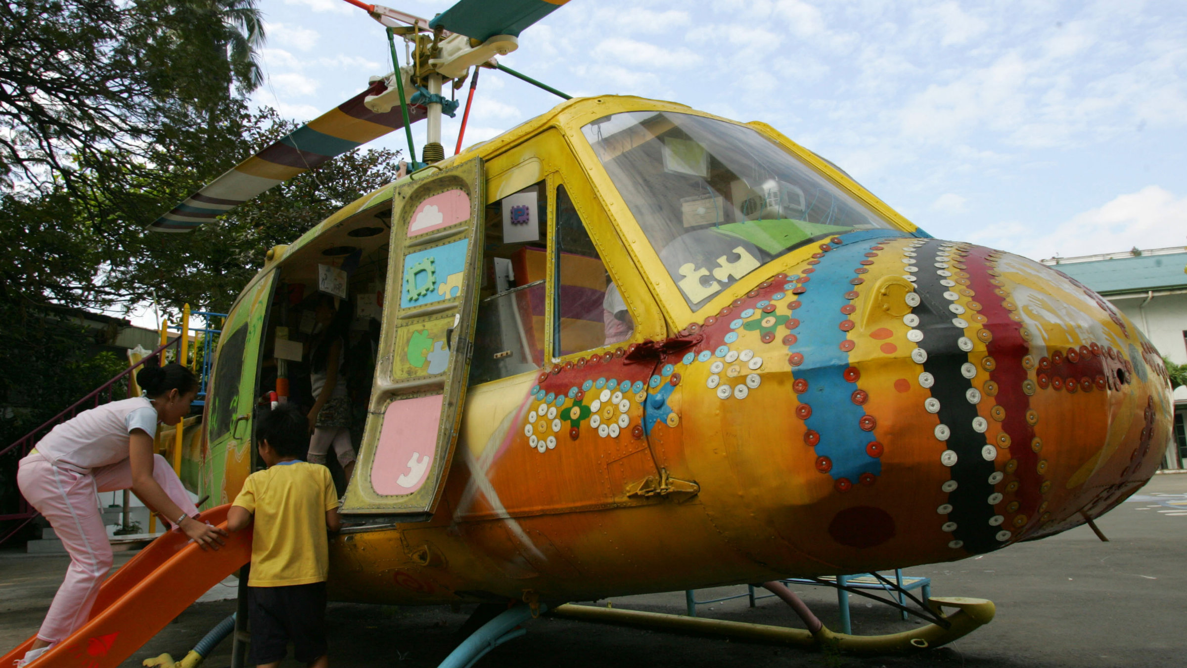 helicopter AP Photo Pat Roque