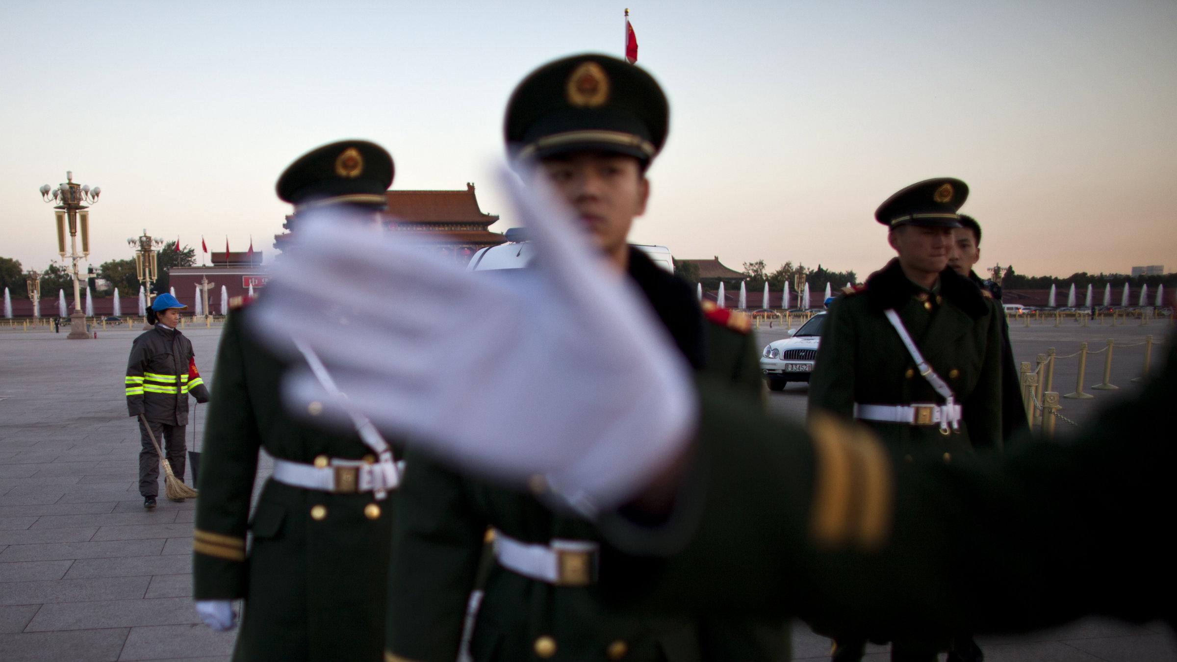 MILITARY AP Photo Alexander F. Yuan