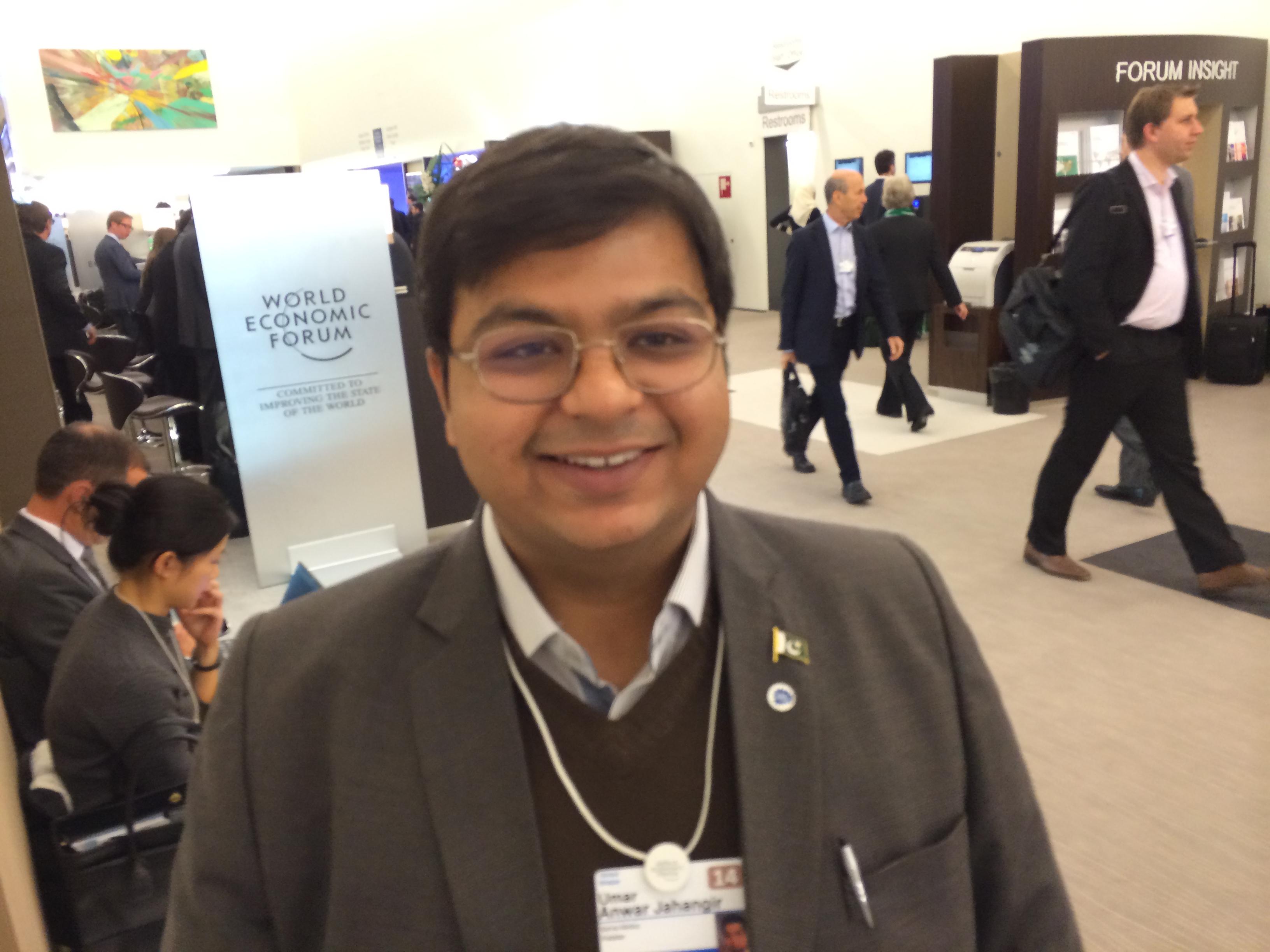 Umar Anwar Jahangir - Davos