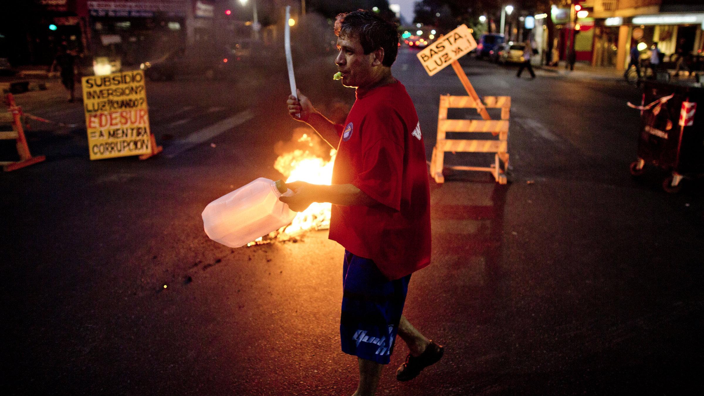protestingman