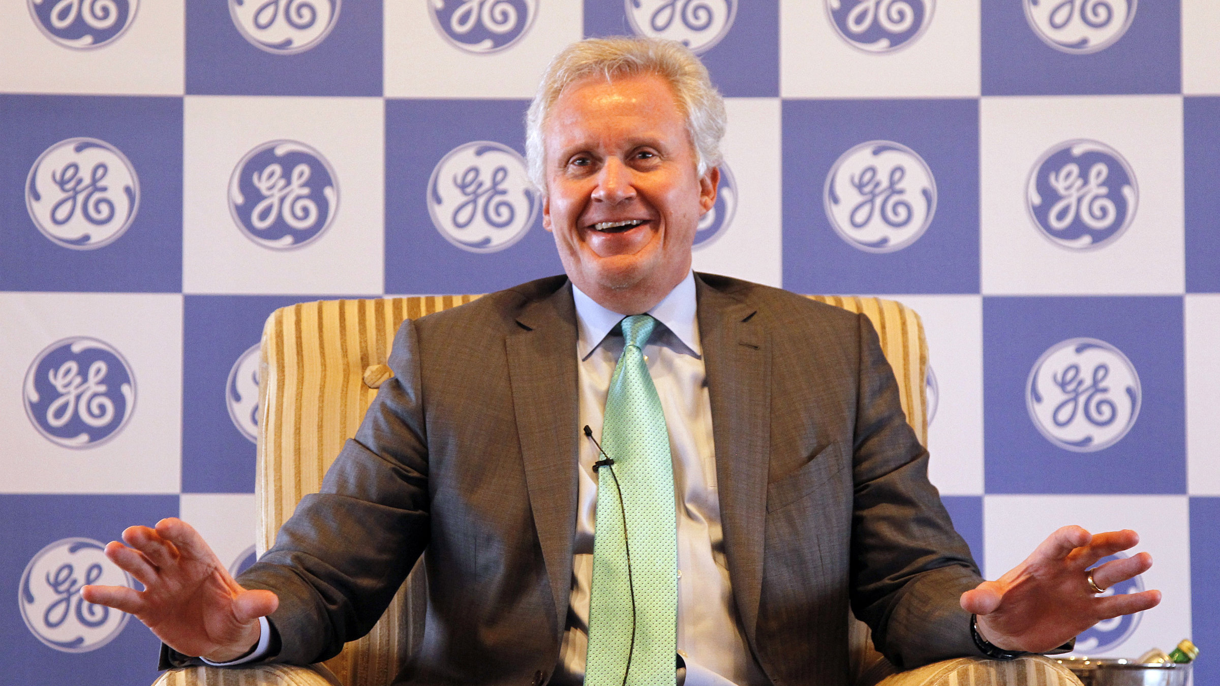 Under CEO Jeff Immelt, GE is investing in big data and 3D printing.