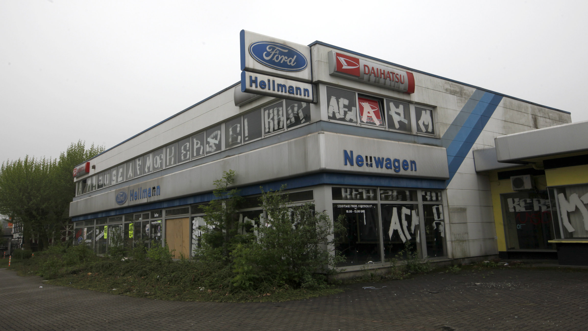 Auto dealers in Europe have seen better days.