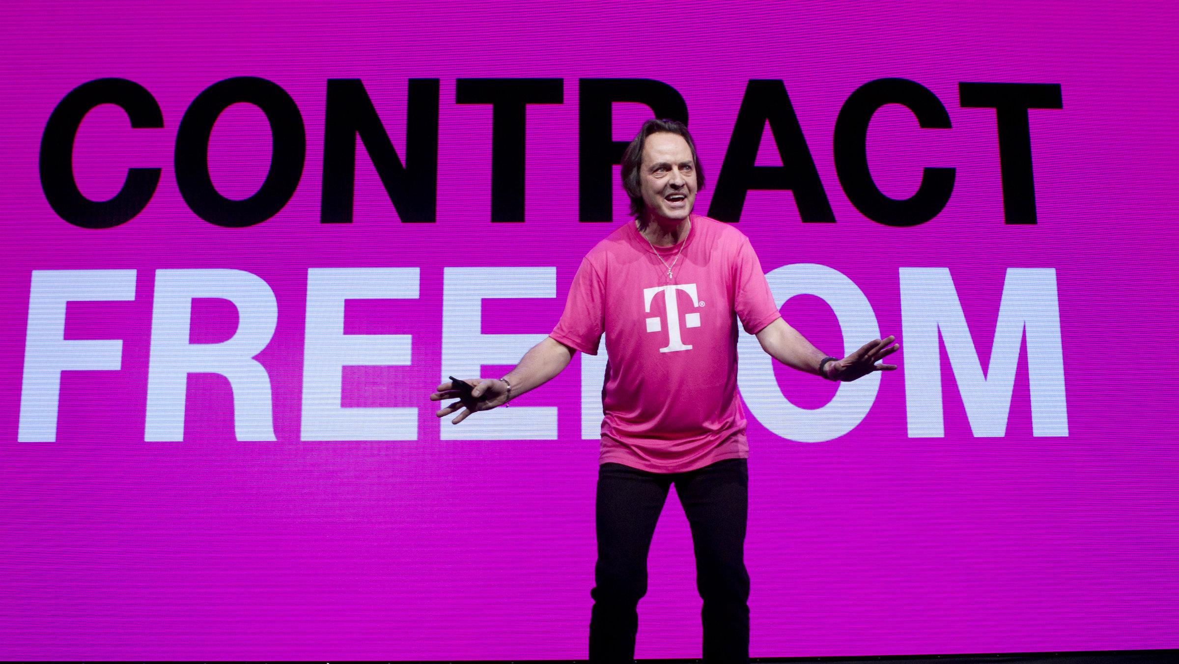 John Legere: liberating cell phone consumers everywhere.