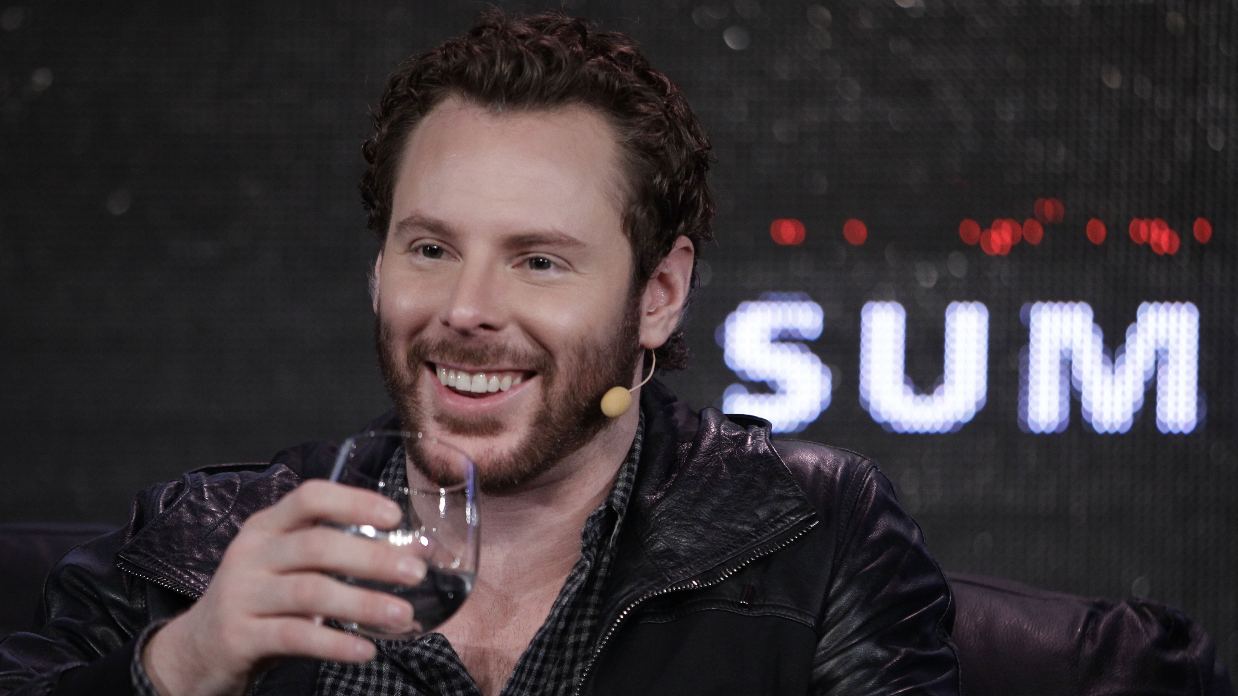 Sean Parker, Chairman of of Causes and a Managing Partner, Founder's Fund, speaks at Web. 2.0 Conference in San Francisco, Monday, Oct. 17, 2011. Parker was co-founder of Napster. (AP Photo/Paul Sakuma)