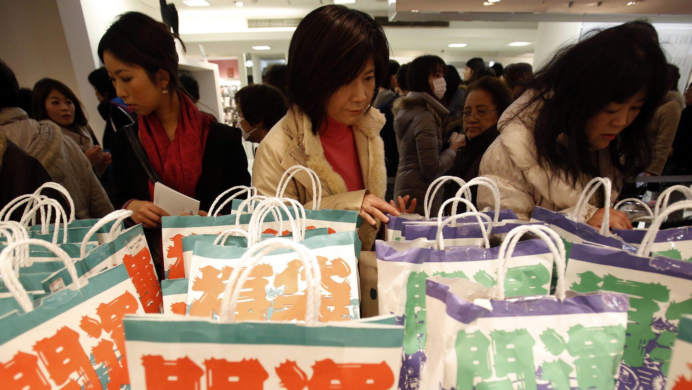 Shop till deflation drops.