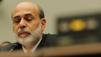 Federal Reserve Chairman Ben Bernanke testifies before the House Financial Services Committee hearing on Capitol Hill in Washington, Wednesday, July 16, 2008 on monetary policy and the state of the economy. ()
