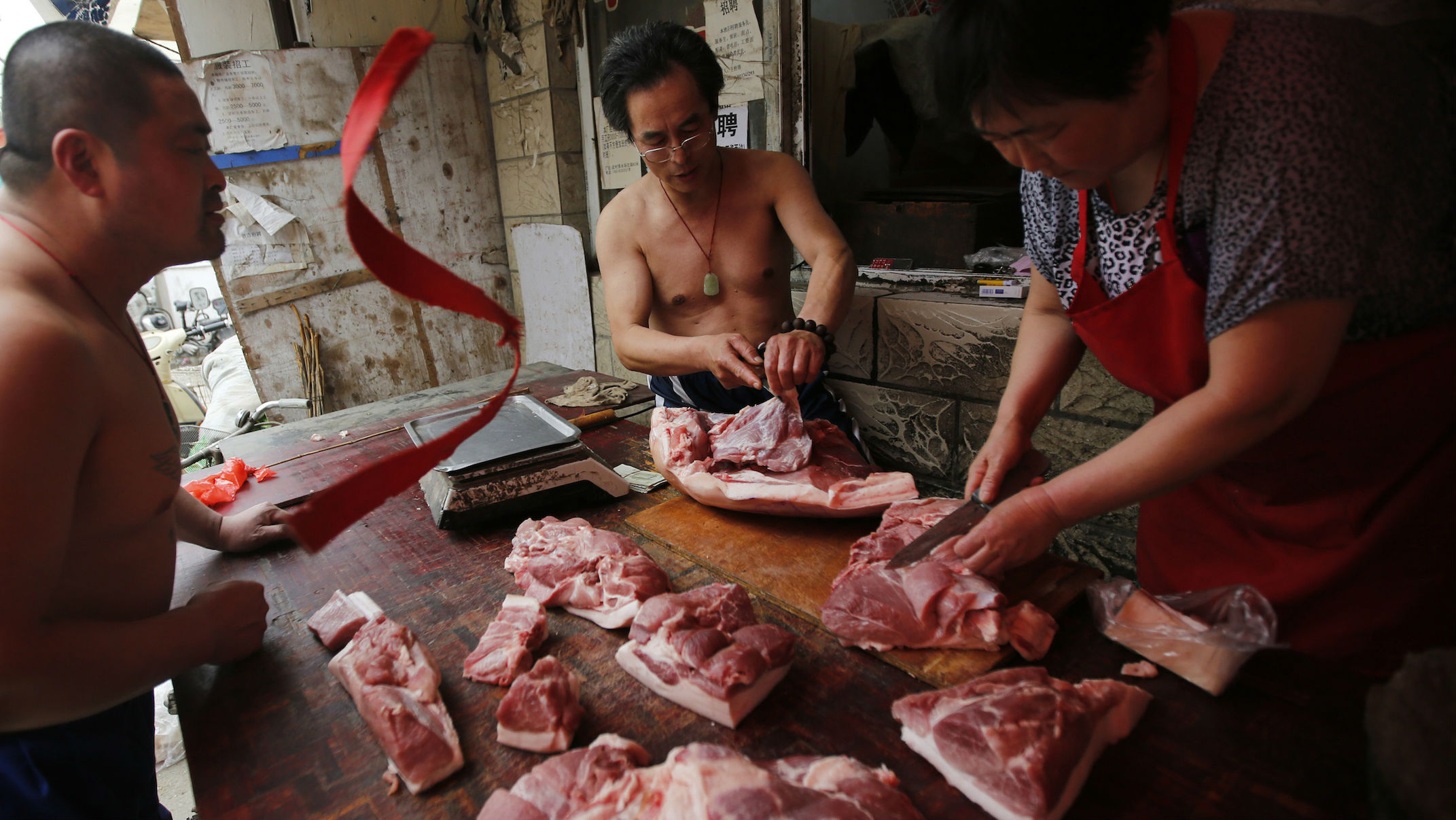 china meat