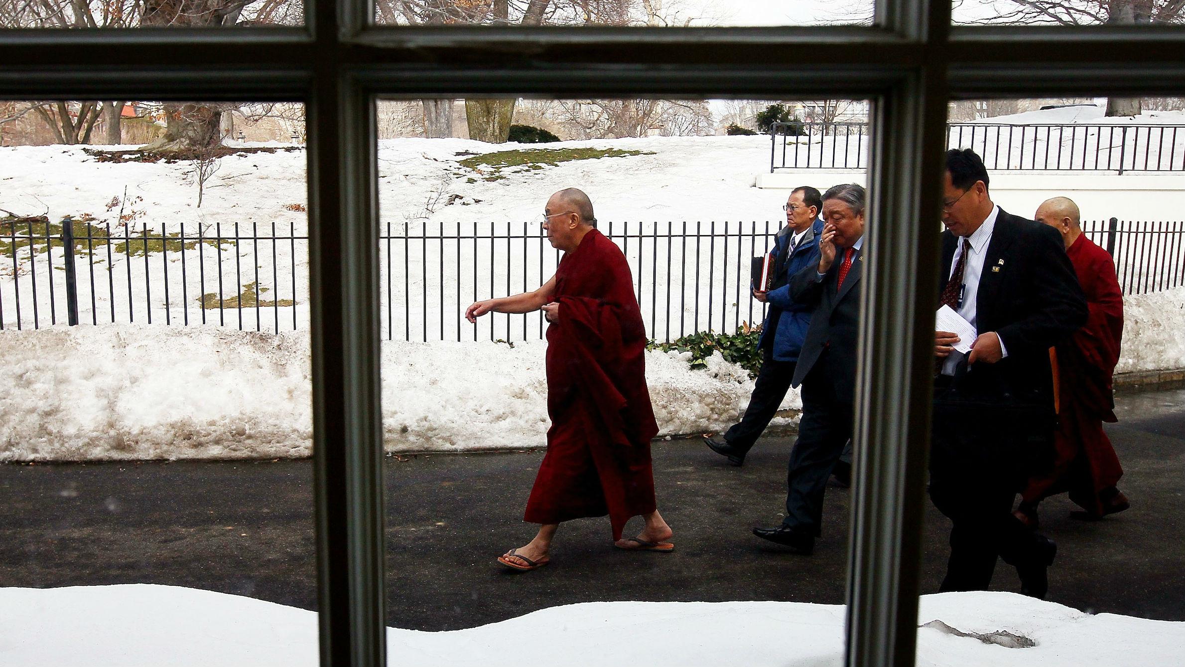 dalai lama white house