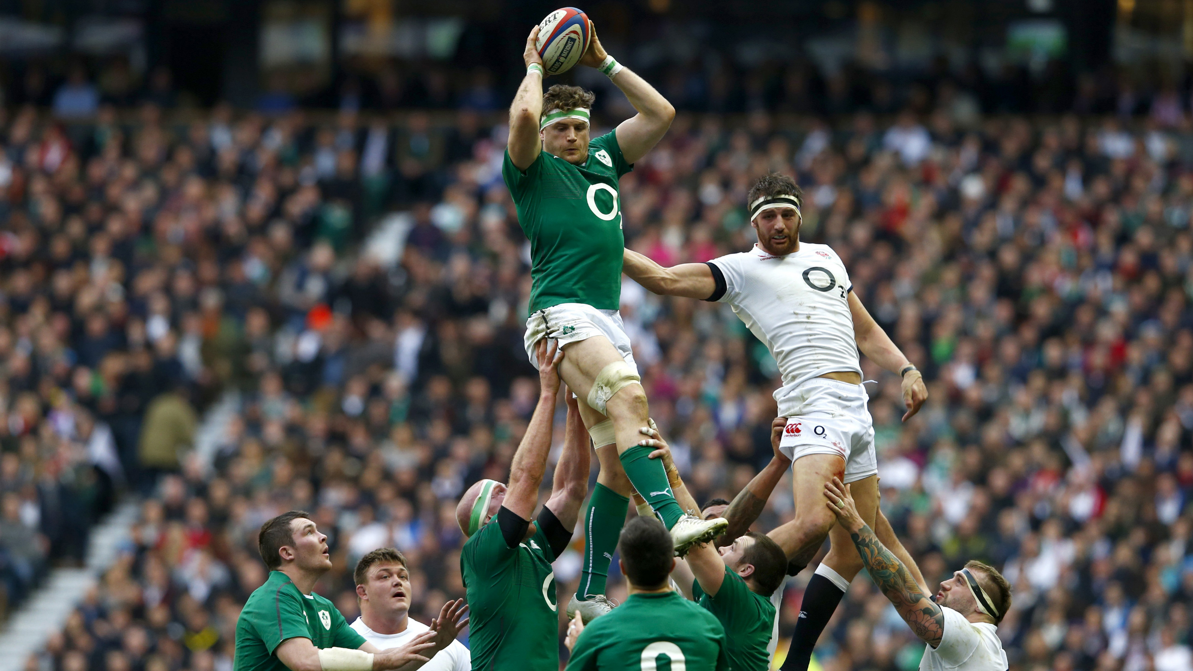 Something has been giving the Irish a lift.