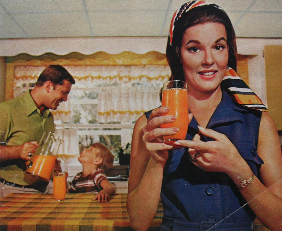 Orange Juice ad