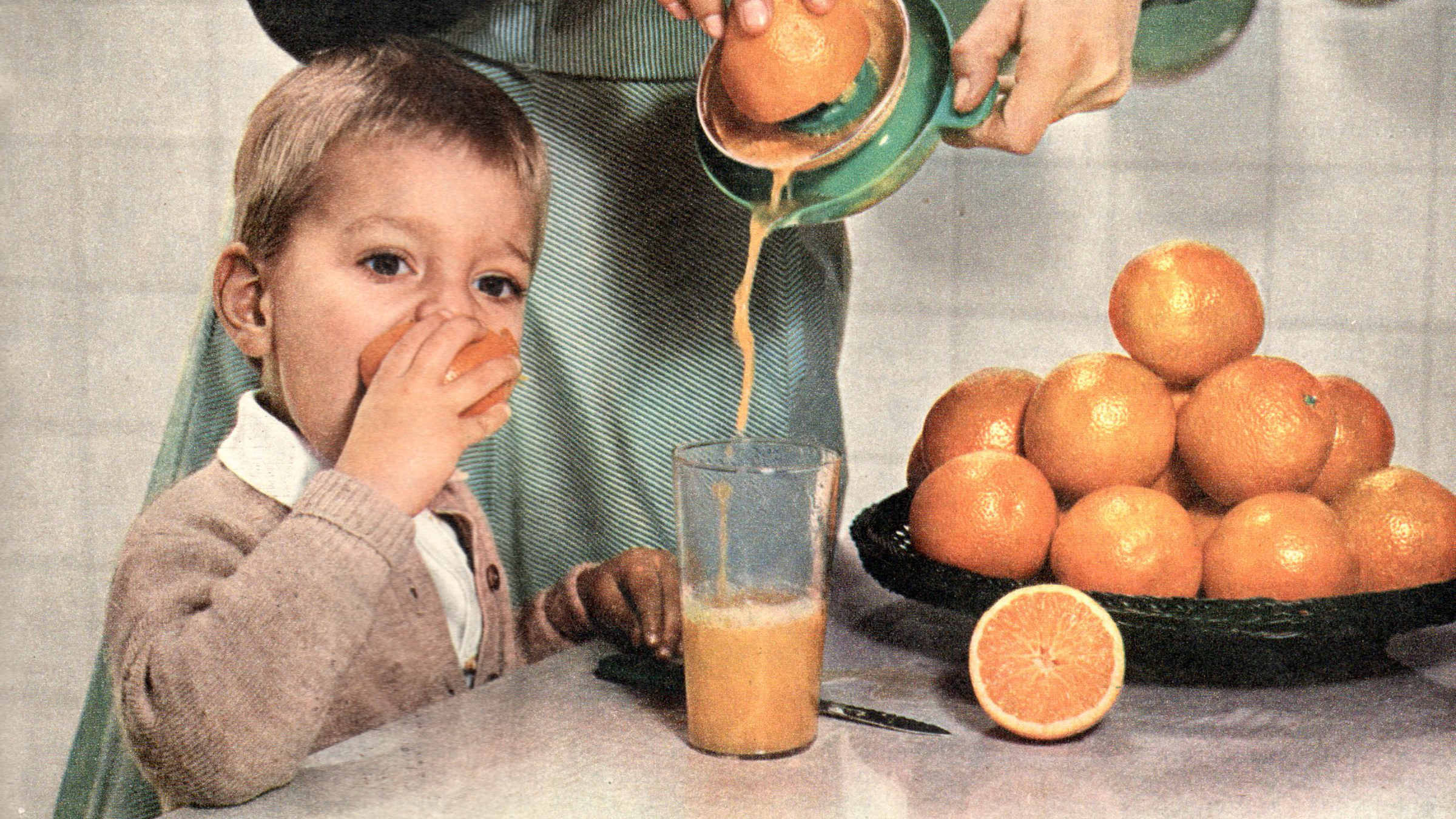 Orange Juice child
