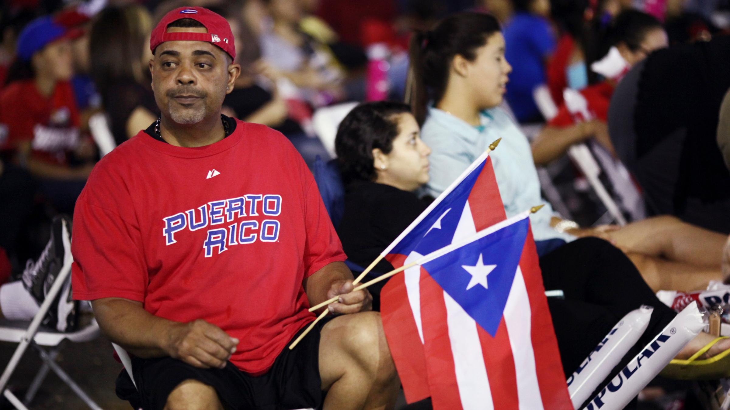 Puerto Rican flags