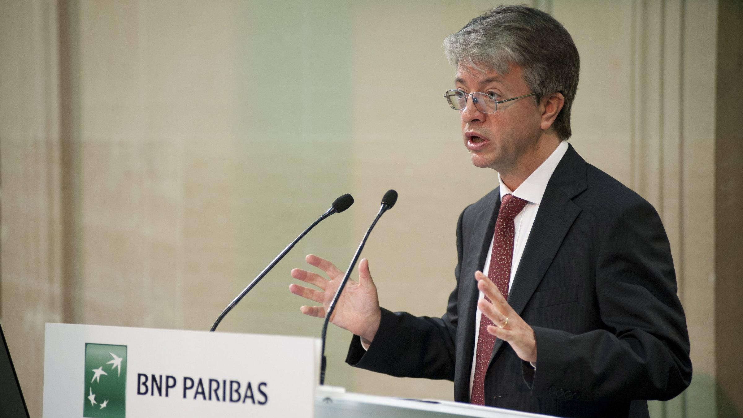 BNP Paribas chief executive Jean-Laurent Bonnafé, bringer of bad news